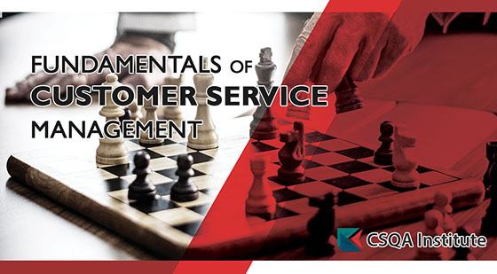 Fundamentals of Customer Service Management course card